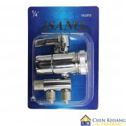 Isano 1622FD 2 Way Water Filter Diverter Valve for Countertop Filter 1/4