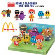 [Limited Edition] Ronald McDonald and Friends Nanoblock Toys