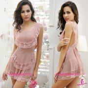 Women Fancy Maid Dress Cosplay Costume Sleepwear Nightwear Sexy Lingerie M4405