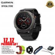 Garmin Fenix 5X Sapphire Slate Gray Multisport GPS Smart Watch with Full-color Map Guidance & HR
