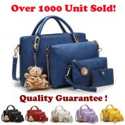 {JMI} 5 in 1 Luxurious Elegance HandBag - 6 Colors~!