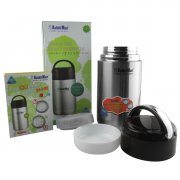 Rabbit Mart Stainless Steel Vacuum Insulation Jar Thermal Flask Thermos