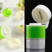 HW008 Medicine Crusher Cutter Storage 3 in 1 Pill Tablet Grinder