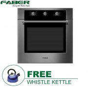 FABER FBO67SS 65L BUILT-IN OVEN *F.O.C WHISTLE KETTLE