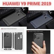 HUAWEI Y9 PRIME 2019 Carbon Fiber Soft TPU Silicon Back Case
