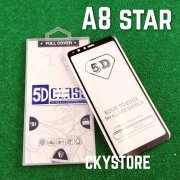 5D Glass Glued Tempered Glass For SAMSUNG Galaxy A8 Star