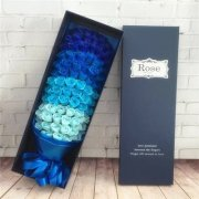 99pcs Soap Flower wand Gift box