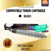 Compatible Ricoh MPC3501/ MPC3001 Black Toner Cartridge For Use in Ricoh