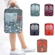 Korea Design Waterproof Travelling Multipurpose Shoe Bag Storage Footwear Zip Closure