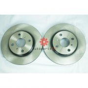 TRW Disc Rotor Rear For Toyota Vios NCP93,Perodua Alza New (1SET)