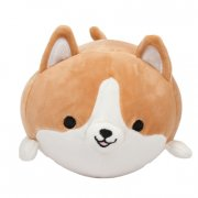 Dog Plush Toy Stuffed Cute Soft Cartoon Animal Pillow for Kids (BROWN)