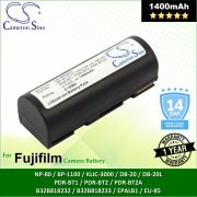 Cameron Sino Camera Battery NP80FU Epson R-D1 / R-D1s Battery 1400mah (Original)