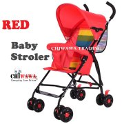 Ultralight One-Handed Foldable Stroller Buggy Sparky Steel Frame Stroller with 8pcs Wheels