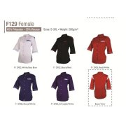 Women Half Sleeve Corporate Top F129