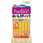 DOGGYMAN hello! Sweet Potato Stick 6pcs