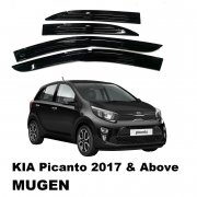Kia Picanto 2017 Above Mugen Door Visor