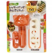 Red Panda Onigiri Set - ARN