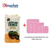 MJ CRISPY SEAWEED SNACK - SEA SALT (4.5G X 9PCS)