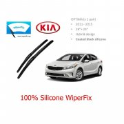 Kia Optima 2010-2015, Wiperfix Silicone Wiper, Hybrid Design
