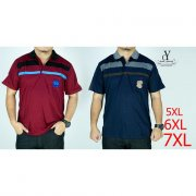 PLUS SIZE MAN CASUAL POLO COLAR SHIRT BIG SIZE / SHIRT COLAR SIZE BESAR(CY 3234)