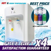 SAEMMUL HOT & ROOM TEMPERATURE DIRECT PIPE-IN WATER DISPENSER (FOR 1-2 PERSON)