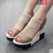 Women Wedges High Sandals Shoes SGOS