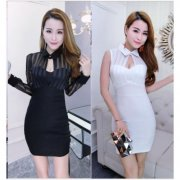 2 Type Korea Fashion Fitting Dress ~ Freight time 7 business days