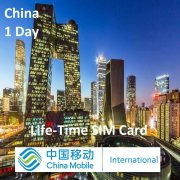 1 Day Greater China Travel SIM Roaming Data Card (China, Hong Kong, Macao & Taiwan)