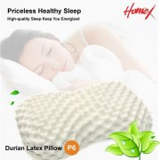 HomeX Latex Durian Latex Pillow, P6