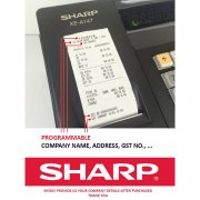 SHARP XEA-147 CASH REGISTER WITH GST FUNCTION