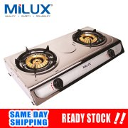 Milux MS-3399 Stainless Steel Top Plate Gas Stove