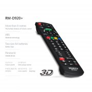 Huayu RM-D920+ common Panasonic lcd/led tv remote control.