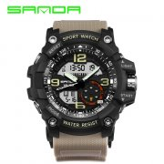 Sanda 759 Military Sport Digital Analogue Watch