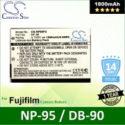 Cameron Sino Camera Battery NP95FU Fujifilm FinePix F30 / FinePix F31fd Battery 1800mah (Original)