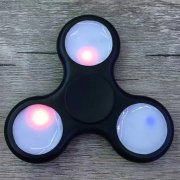 ANTI-STRESS TOY COLOR CHANGING LED FIDGET HAND SPINNER