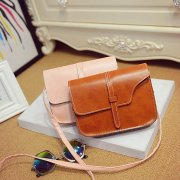 Women PU Leather Messenger Casual Smart Diagonal Bag (7 colors)