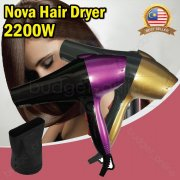 Nova Professional Fashion Hair Dryer Hair Care 2200W 2 Speed