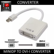 MINIDP THUNDERBOLT TO DVI-I 24+5 CONVERTER ADAPTER