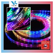 RGB Marquee 100 Meter Waterproof 220V 144LEDS (6 Colors)