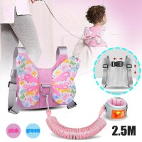Toddler Baby Safety Wing Walking Harness Anti-lost Wristband Belt Backpack Rein