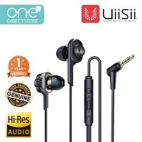 UiiSii Realistic Bass 6MM Dual Dynamic Driver Hi-Res In-Ear Earphone - BA-T6J