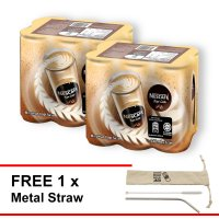 NESCAFE Latte RTD 240ml , Buy 2 Clusters [Free Metal Straw]