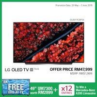 77-Inch C9 OLED HDR Smart UHD TV with AI ThinQ® (PRE-ORDER)