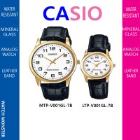 CASIO classic Analog couple watch MTP-V001GL-7B & LTP-V001GL-7B
