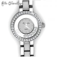 Watch Crystal (White)(Her Jewellery) embellished with crystals from Swarovski®
