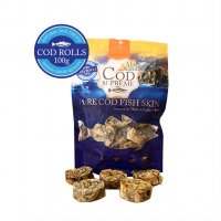 Alps Natural Cod Supreme Rolls Dog Treats 100g