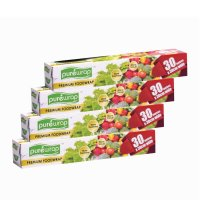 PUREWRAP Premium Food Wrap (30cm wide x 30m length) - [Bundle of 4]