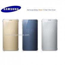 Original SME Samsung Galaxy S6 Edge Note 5 Clear View Smart Cover Case