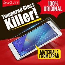 100% Original SheZi Huawei Honor 7 6 Plus P8 Lite 4X 4C 3C Tempered Glass Screen Protector