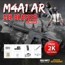 (JM) M4A1 8th Generation Gen 25m Meter Electric Burst Water Gel Blaster Premium ABS Adult Kid Toy (F